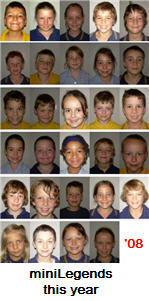 Photo of this year's class of miniLegends