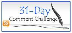 31 day blog challenge logo