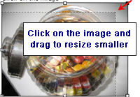 Image of how to resize