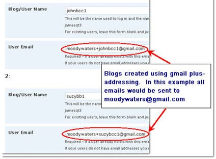Creating Student Accounts Using One Gmail Account – The