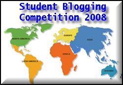 Student Blogging Competition logo