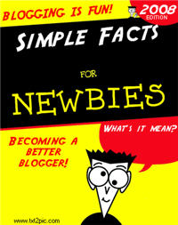 Image of a blogging book