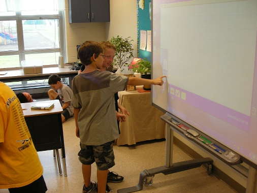 Image of Interactive Whiteboard