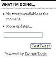 Image of twitter tool