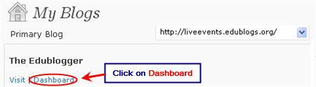 Image of dashboard