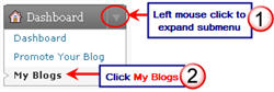 Image of locating blog