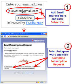 Image of Feedburner email