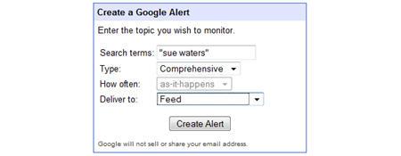 Image of google alerts