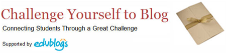 Student Blogging Challenge logo