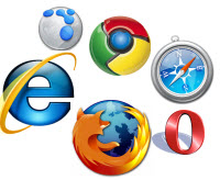 Types of web browsers