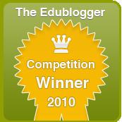 The Edublogger's Winner Badge
