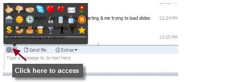 Adding Emoticons