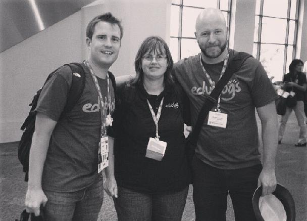 The Edublogs team at #iste13