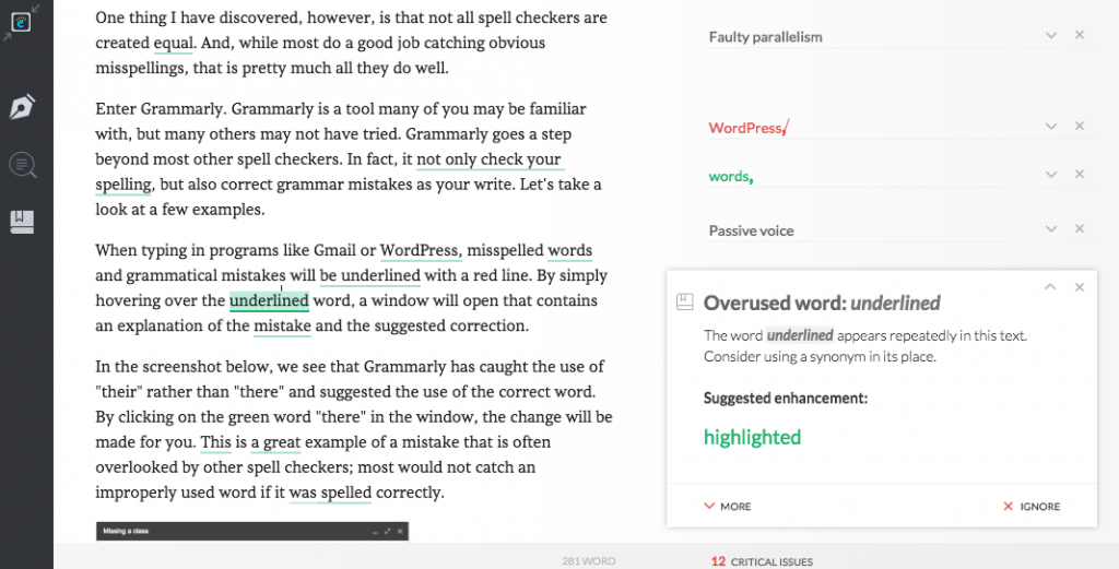 Review: Write Better With Grammarly – The Edublogger